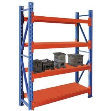 Heavy Duty Selective Stacking Galvanized Automatic Warehouse Storage Mezzanine Cantilever Teardrop Shelf Metal Steel Pallet Shuttle Rack