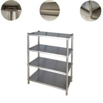 Manufactory Commercial Stainless Steel Kitchen Wall Shelf with Backsplash