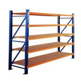 Rh-Hrp012 Selective Warehouse Pallet Rack Structural Upright with 96'' Long Beams