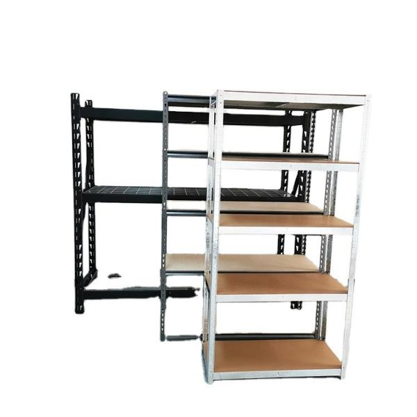 Hot Sale Amazon 3 Tiers Supreme Light Duty Steel Wire Storage Shelving Unit with Stable Leveling Feet #1 image