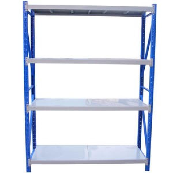 Industrial Commercial Double Stacking Gondola Pallet Warehouse Storage Stainless Steel Pallet Rack Shelf #1 image